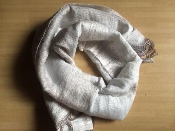 初めての織り物