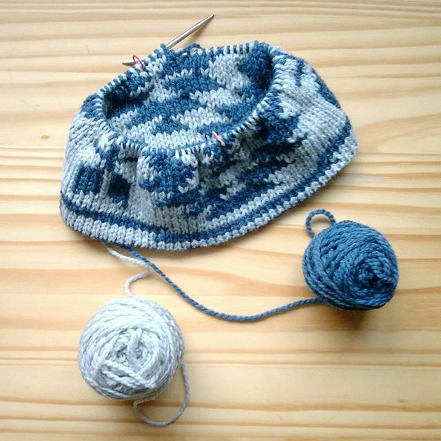 Titicaca mini 試し編み。#leniddelili #b…