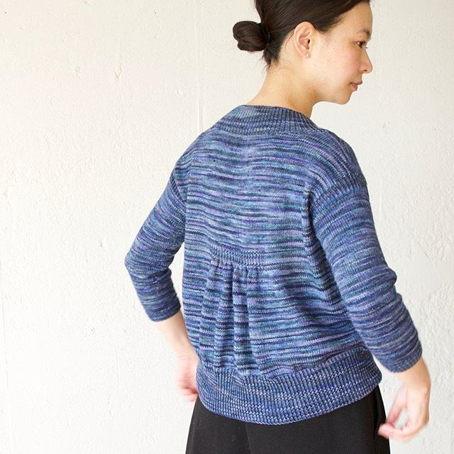 "#nejineji 人体さんが着てくれましたリリース、もうすぐです。I'm going to release my first pattern ""Nejineji"" .#malabrigosock #leniddelili #knitting #knitofinstagram"